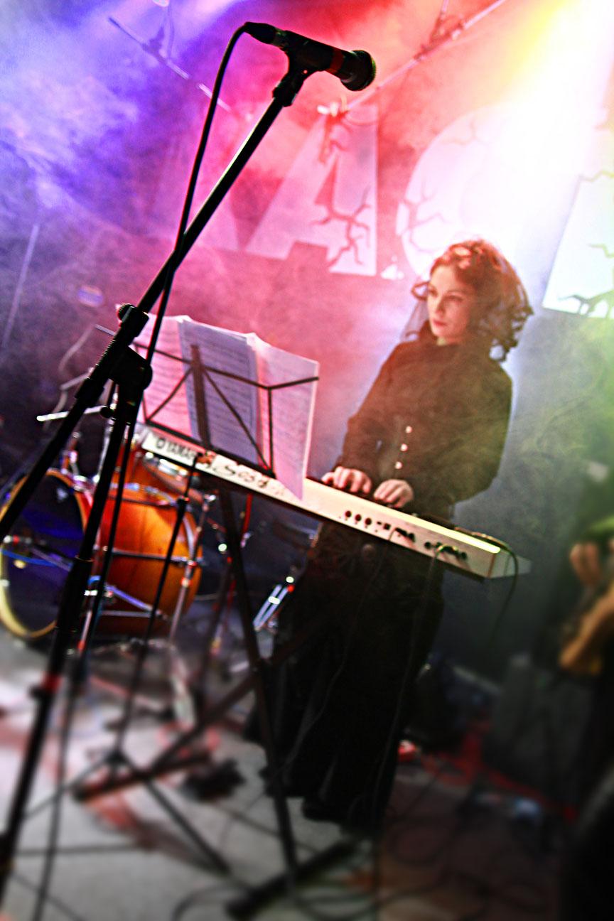 Марина Felis на концерте в клубе Каста