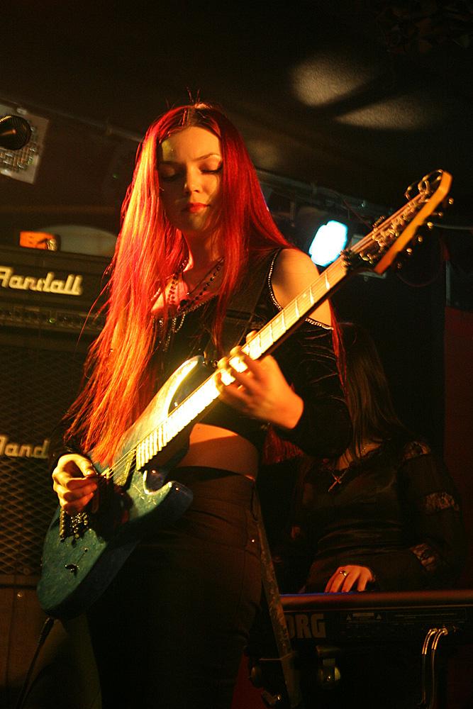 Марианна Vesssna на концерте в клубе Релакс